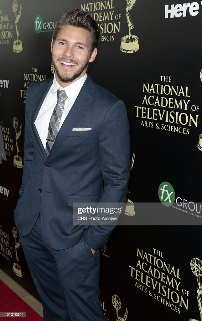 Scott Clifton on the red carpet at The 41st Annual Daytime Entertainment Emmy® Awards.
