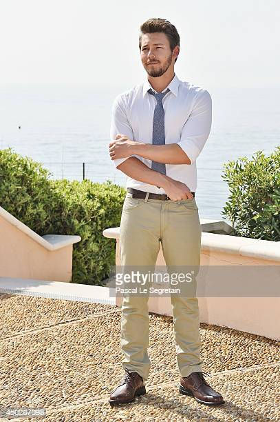 Scott Clifton poses during a photocall for the TV Show ' The Bold and the Beautiful' as part of the 54th MonteCarlo Television Festival on June 8...
