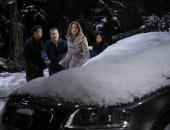 LIVE Scott Clifton Scott Evans Susan Haskell and Amanda Setton in a scene that airs the week of February 8 2010 on ABC Daytime's 'One Life to Live'...