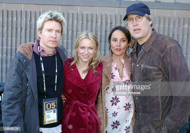 Scott Coffey director Naomi Watts Rebecca Rigg and Chevy Chase