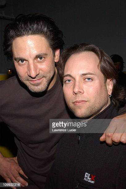 Scott Cohen and Larry Goldman on whom Scott's character is based