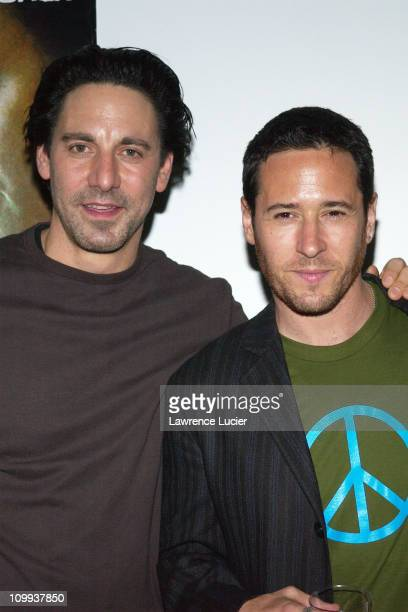Scott Cohen Rob Morrow during Kickoff Party For Showtime Series Street Time at New York Studios in New York New York United States
