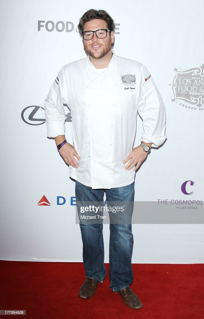 Scott Conant arrives at the 2013 Los Angeles Food & Wine Festival - 'Festa Italiana With Giada De Laurentiis' opening night held on August 22, 2013 in Los Angeles, California.