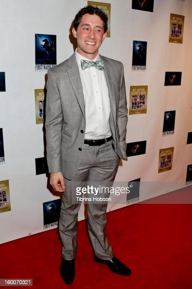 Scott Cooper Ryan attends the 'Not Another Celebrity Movie' Los Angeles premiere at Pacific Design Center on January 17 2013 in West Hollywood...