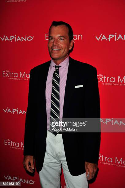 Scott Currie attends Vapiano hosts the New York Premiere of THE EXTRA MAN red carpet arrivals and afterparty at Village East Cinema and Vapiano NYC...