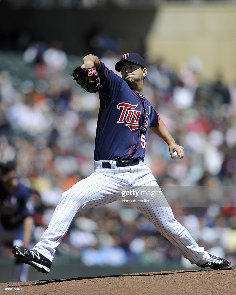 <a gi-track='captionPersonalityLinkClicked' href=/galleries/search?phrase=Scott+Diamond&family=editorial&specificpeople=5751757 ng-click='$event.stopPropagation()'>Scott Diamond</a> #58 of the Minnesota Twins delivers a pitch against the Baltimore Orioles during the first inning of the game on May 12, 2013 at Target Field in Minneapolis, Minnesota.