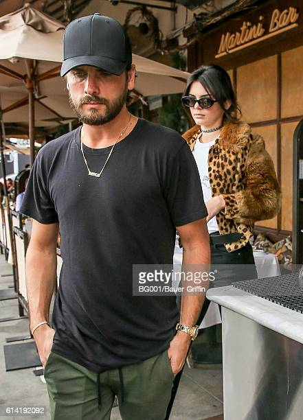 Scott Disick and Kendall Jenner seen on October 12 2016 in Los Angeles California