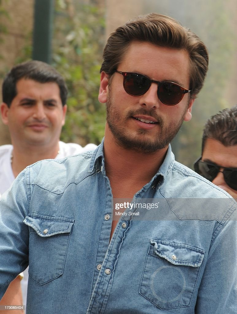 <a gi-track='captionPersonalityLinkClicked' href=/galleries/search?phrase=Scott+Disick&family=editorial&specificpeople=4420046 ng-click='$event.stopPropagation()'>Scott Disick</a> arrives at the Sapphire Pool & Day Club on July 6, 2013 in Las Vegas, Nevada.