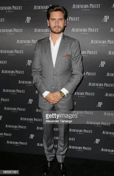 Scott Disick attends a cocktail reception to celebrate the launch of new watch for Audemars Piguet on September 27 2013 in Miami Beach Florida