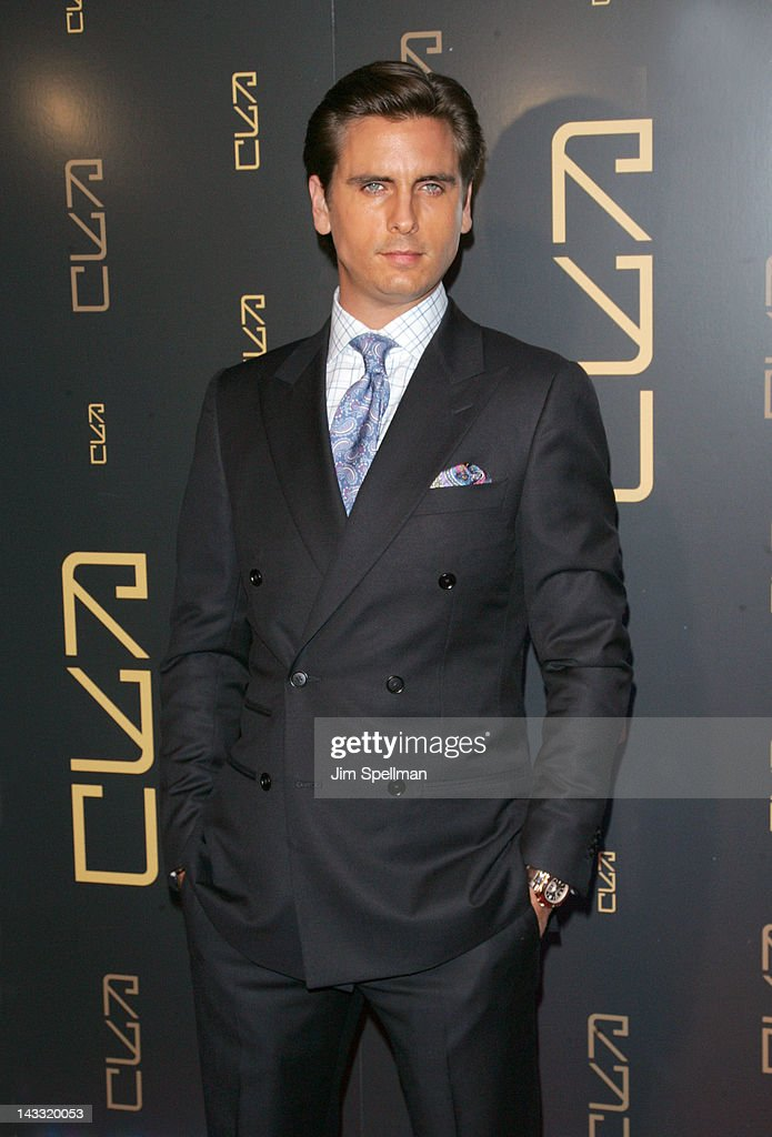 Scott Disick attends the grand opening of RYU on April 23, 2012 in New York City.