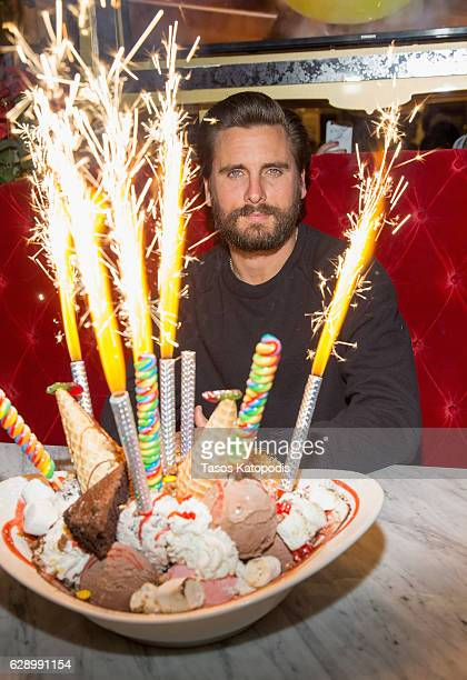 Scott Disick hosts the Sugar Factory Chicago Grand Opening on December 10 2016 in Chicago Illinois