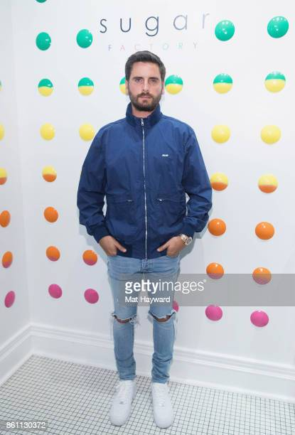 Scott Disick visits the Sugar Factory American Brassiere on October 13 2017 in Bellevue Washington