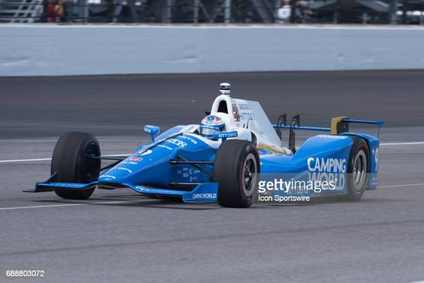 Scott Dixon in his new Camping World livery on Carb Day during the final practice for the 101st Indianapolis on May 26 at the Indianapolis Motor...