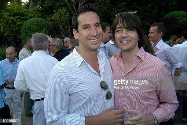 Scott Domann and Scott Tegethoff attend School's Out 2008 benefiting The HetrickMartin Institute home of the Harvey Milk High School at East Hampton...