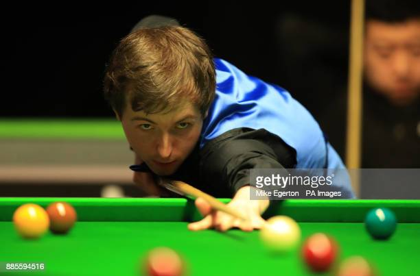Scott Donaldson during his match with Li Hang on day seven of the 2017 Betway UK Championships at the York Barbican PRESS ASSOCIATION Photo Picture...
