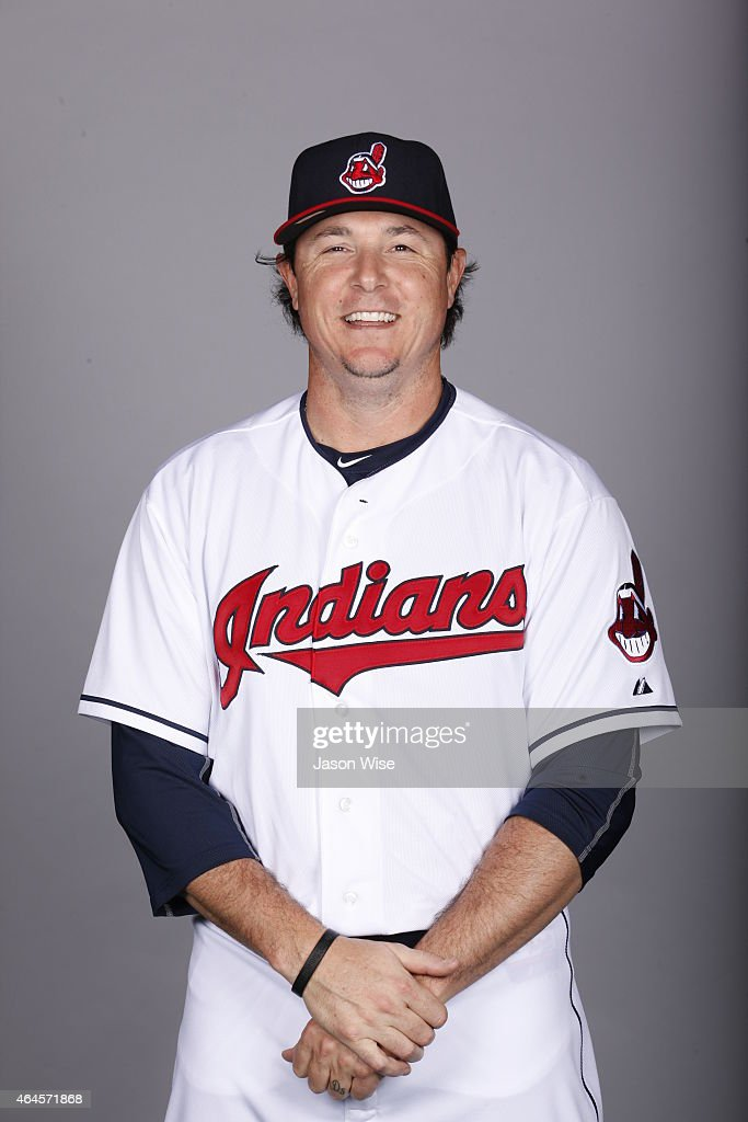 Scott Downs #39 of the Cleveland Indians poses during Photo Day on Thursday, February 26, 2014 at Goodyear Ballpark in Goodyear, Arizona.