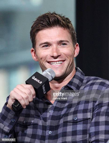 Scott Eastwood appears to promote 'Snowden' during the AOL BUILD Series at AOL HQ on September 12 2016 in New York City