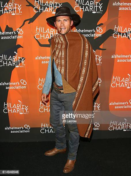 Scott Eastwood attends Hilarity for Charity's 5th Annual Los Angeles Variety Show Seth Rogen's Halloween at Hollywood Palladium on October 15 2016 in...