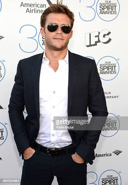 Scott Eastwood attends the 2015 Film Independent Spirit Awards at Santa Monica Beach on February 21 2015 in Santa Monica California