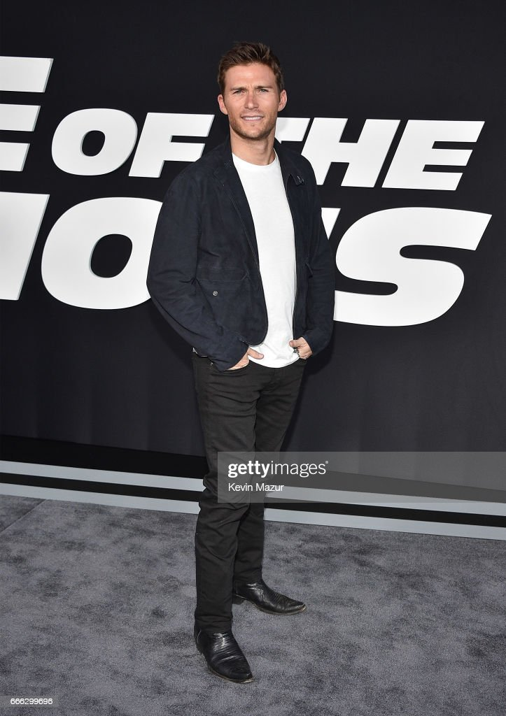 Scott Eastwood attends 'The Fate Of The Furious' New York premiere at Radio City Music Hall on April 8, 2017 in New York City.