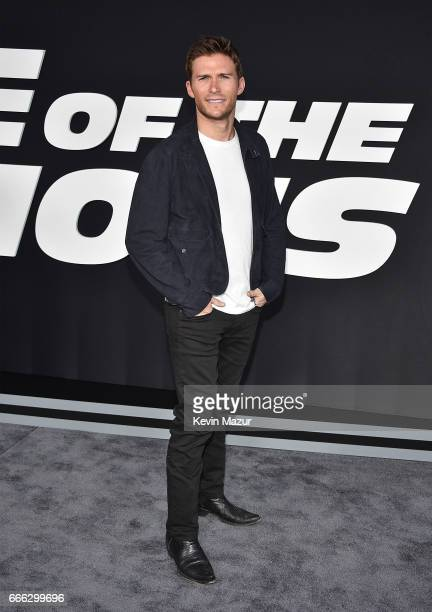 Scott Eastwood attends 'The Fate Of The Furious' New York premiere at Radio City Music Hall on April 8 2017 in New York City