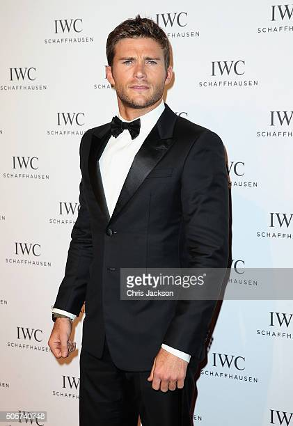 Scott Eastwood attends the IWC 'Come Fly With Us' Gala Dinner during the launch of the Pilot's Watches Novelties from the Swiss luxury watch...