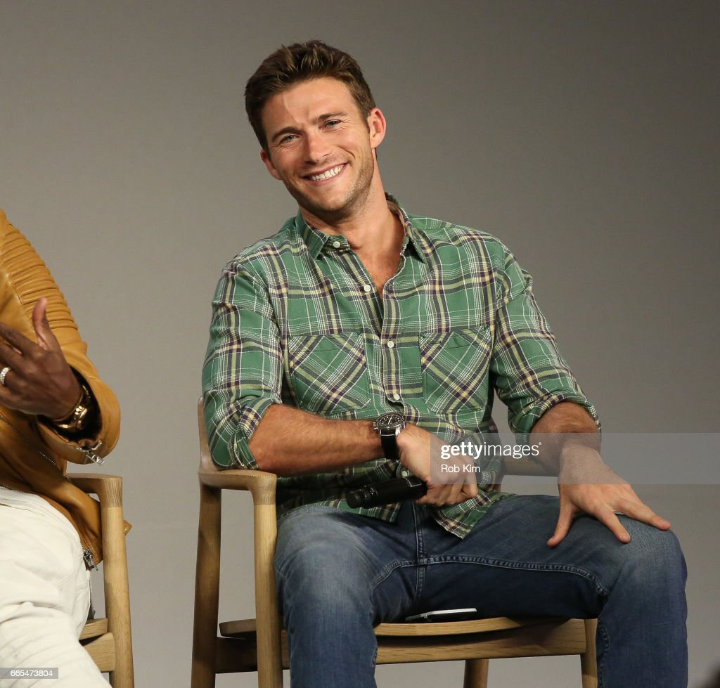 Scott Eastwood discusses 'The Fate Of The Furious' at Apple Store Soho on April 6, 2017 in New York City.