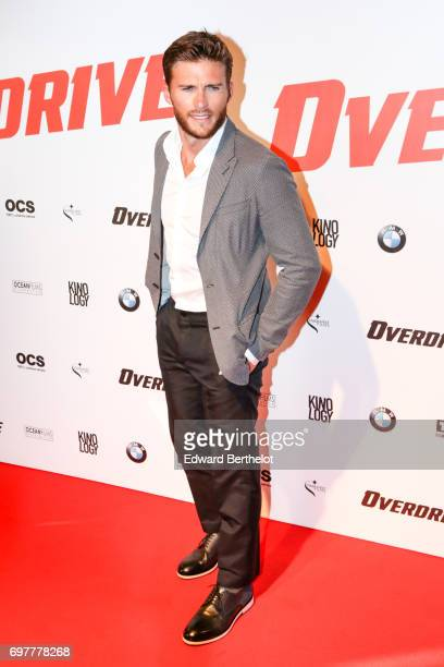 Scott Eastwood during the 'Overdrive' Paris Premiere photocall at Cinema Gaumont Capucine on June 19 2017 in Paris France