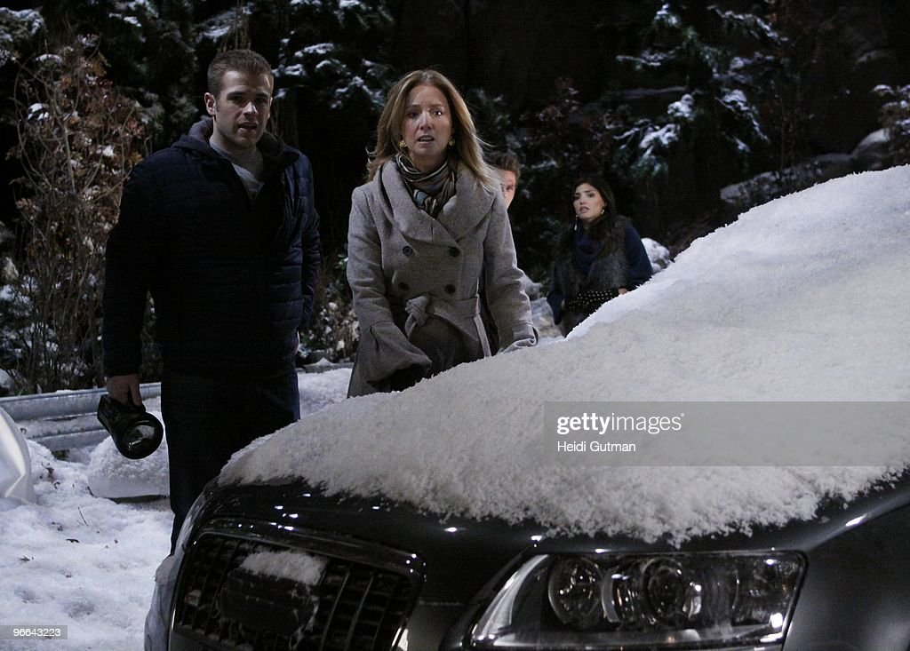 LIVE - Scott Evans (Oliver), Susan Haskell (Marty), Scott Clifton (Schuyler) and Amanda Setton (Kim) in a scene that airs the week of February 8, 2010 on ABC Daytime's 'One Life to Live.' 'One Life to Live' airs Monday-Friday (2:00 p.m. - 3:00 p.m., ET) on the ABC Television Network. OLTL10 (Photo by Heidi Gutman/ABC via Getty Images) SCOTT