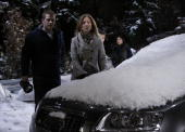 LIVE Scott Evans Susan Haskell Scott Clifton and Amanda Setton in a scene that airs the week of February 8 2010 on ABC Daytime's 'One Life to Live'...