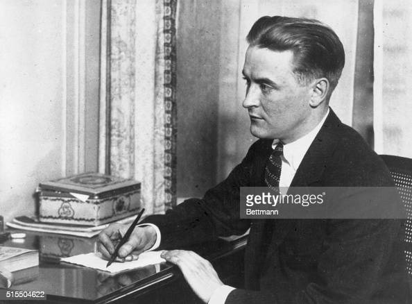 Scott Fitzgerald American writer Born in St Paul Minnesota and was an officer in World War I He was also a scriptwriter in Hollywood and famed as a...