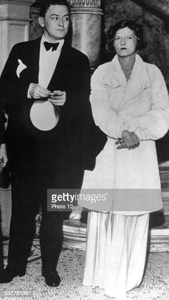Scott Fitzgerald and Zelda attending a performance in Baltimore United States