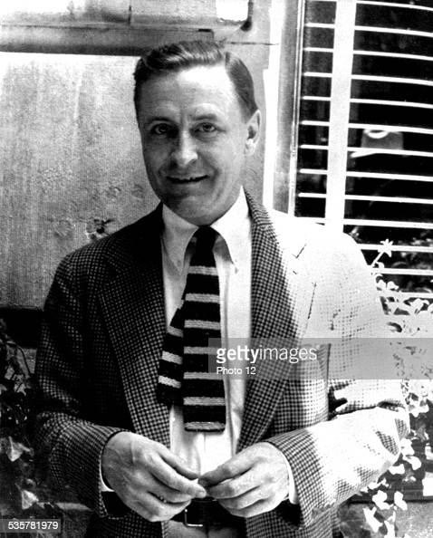 Scott Fitzgerald at the end of his life United States
