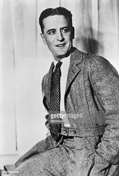 F Scott Fitzgerald seated Photograph