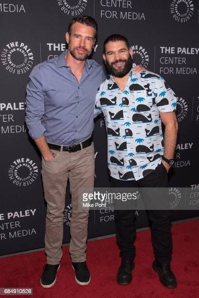 Scott Foley and Guillermo Diaz attend The Ultimate 'Scandal' Watch Party at The Paley Center for Media on May 18 2017 in New York City
