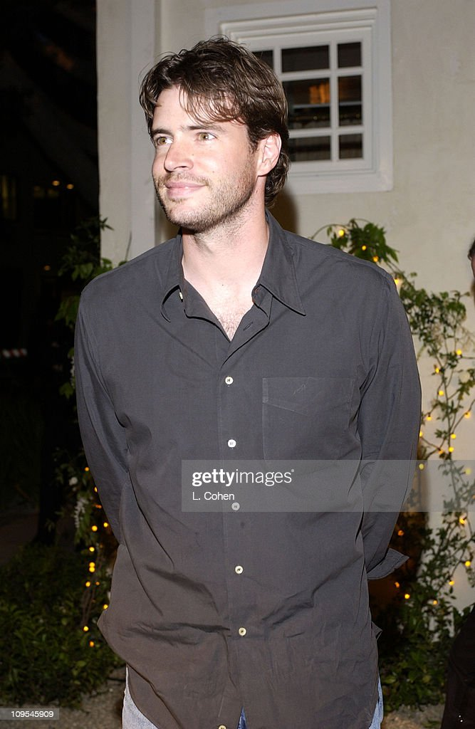 <a gi-track='captionPersonalityLinkClicked' href=/galleries/search?phrase=Scott+Foley&family=editorial&specificpeople=615795 ng-click='$event.stopPropagation()'>Scott Foley</a> arrives at the grand opening of Jennifer Lopez's restaurant 'Madre's' in Pasadena, California, April 12, 2002.
