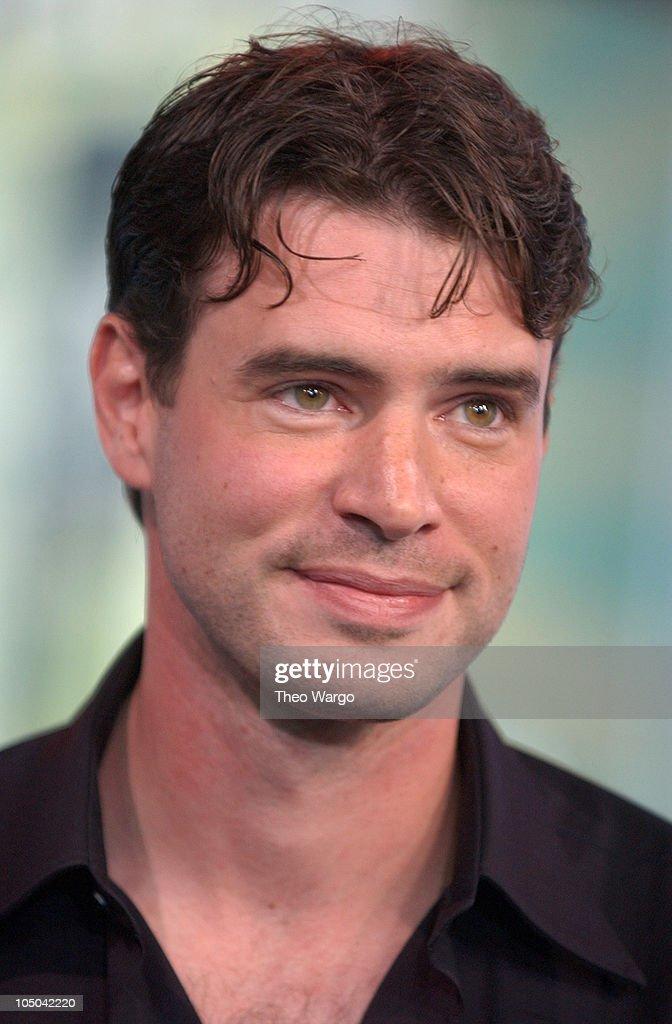 Scott Foley during Scott Foley Visits MTV's 'TRL' February 4 2003 at MTV Studios Times Square in New York City New York United States