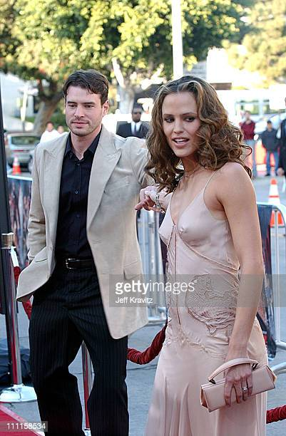 Jennifer Garner Daredevil Premiere Scott Foley Pho...