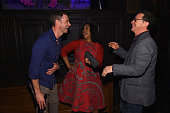 Scott Foley Shonda Rhimes Joshua Malina attend the Entertainment Weekly and PEOPLE celebration of The New York Upfronts at The Highline Hotel on May...