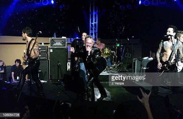Scott Ford Duff McKagan Billy Morrison and Dave Navarro