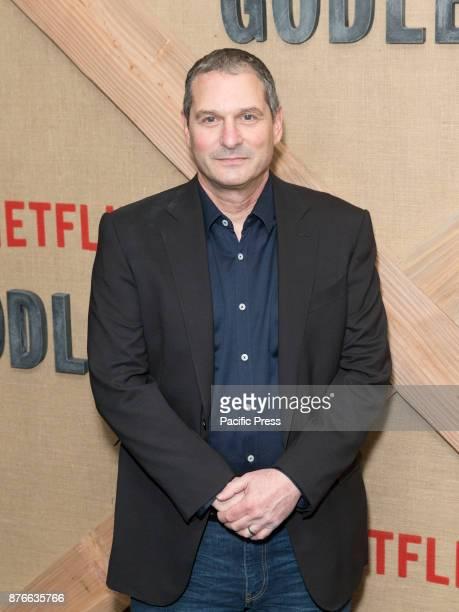 Scott Frank attends Netflix Godless premiere at Metrograph