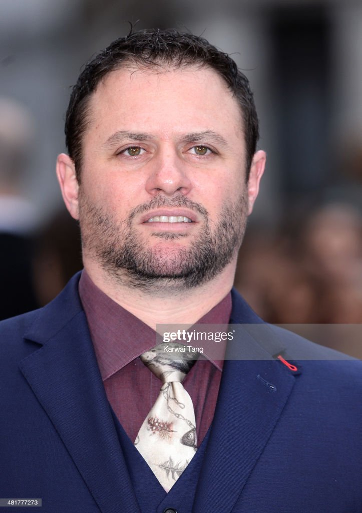 Scott Franklin attends the UK premiere of 'Noah' held at the Odeon Leicester Square on March 31, 2014 in London, England.