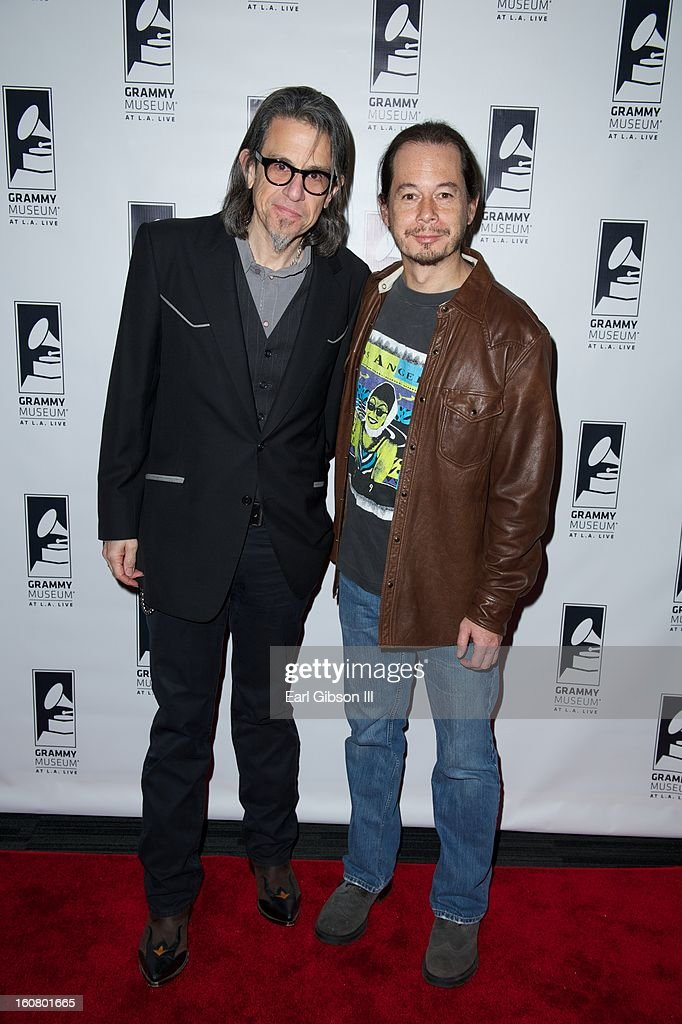 Scott Goldman and director Jay Lee attend 'Happy On The Ground: 8 Days At Grammy Camp at The GRAMMY Museum on February 5, 2013 in Los Angeles, California.
