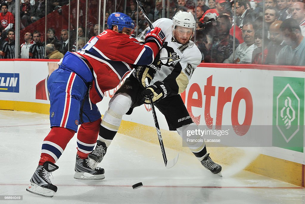 Pittsburgh Penguins v Montreal Canadiens - Game Four