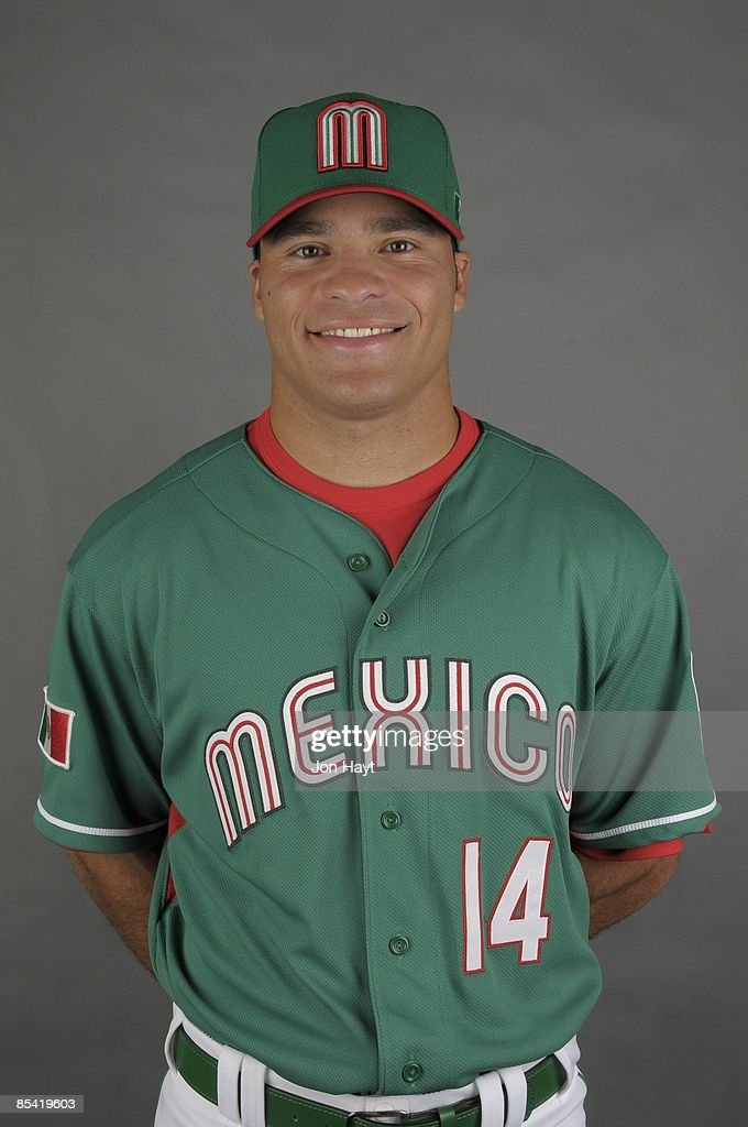 Scott Hairston of team Mexico poses during a 2009 World Baseball Classic Photo Day on Monday, March 2, 2009 in Tucson, Arizona.