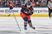 Scott Hartnell of the Columbus Blue Jackets skates against the Winnipeg Jets on October 31 2015 at Nationwide Arena in Columbus Ohio