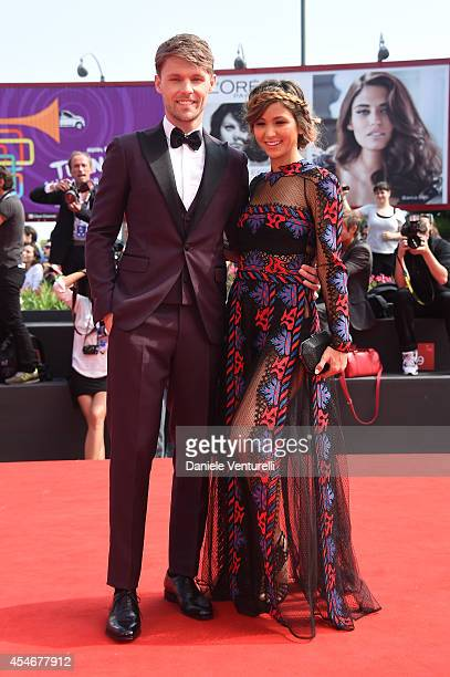 Scott Haze and Elissa Shay attend 'The Sound And The Fury' Premiere during the 71st Venice Film Festival at Sala Grande on September 5 2014 in Venice...