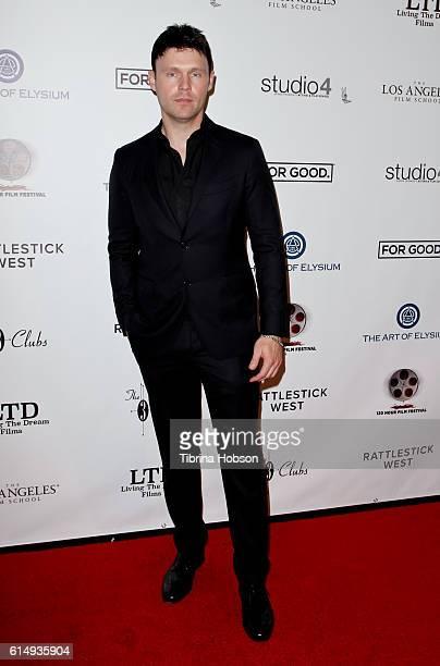 Scott Haze attends the 2016 120 Hour Film Festival at Los Angeles Film School on October 15 2016 in Los Angeles California