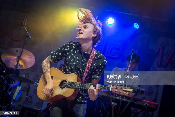 Scott Helman performs on day 5 of the CityFolk Festival at The Great Lawn at Lansdowne Park on September 17 2017 in Ottawa Canada