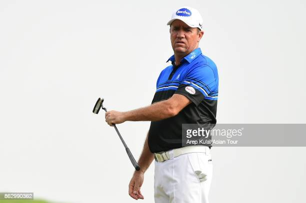 Scott Hend of Australia pictured during the first round of the Macao Open 2017 at Macau Golf and Country Club on October 19 2017 in Macau Macau